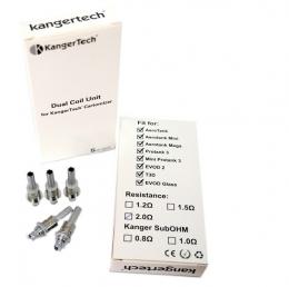 Cменный испаритель Kangertech Dual Coils 1,8 Ohm