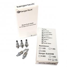 Cменный испаритель Kangertech Dual Coils 0,8Ohm