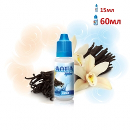 Жидкость Aqua Ваниль 15