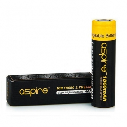 Аккумуляторная батарея Aspire ICR 18650 1800 mAh 40A