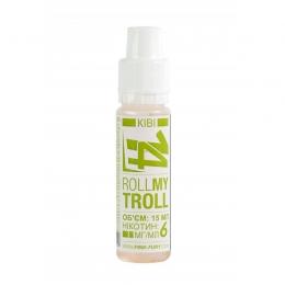 Жидкость для электронных сигарет Pink-Fury ROLL MY TROLL Киви 15