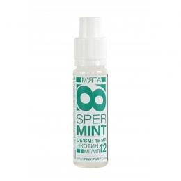 Жидкость для электронных сигарет Pink-Fury SPERMINT Мята 15 мл