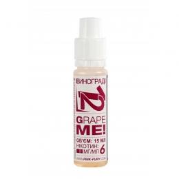 Жидкость для электронных сигарет Pink-Fury GRAPE ME Виноград 15