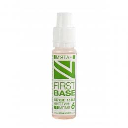 Жидкость для электронных сигарет Pink-Fury FIRST BASE Мята+ 15 м