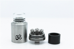 Атомайзер Turbo RDA V2 Silver