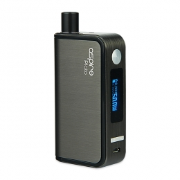 Комплект Aspire Plato TC 50W 2500 mAh 18650 Grey