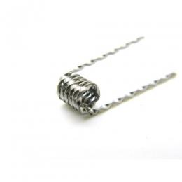 Преднамотанная спираль Ribbon twisted clapton coil 0,2 Ом