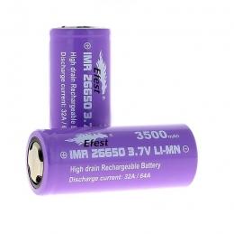 Батарея J Well Efest IMR 26650 3500 mAh