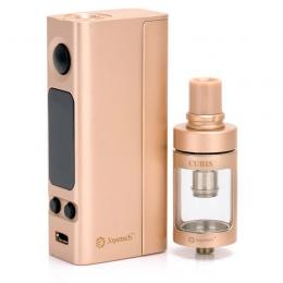 Комплект Joyetech eVic VTC Mini 75W CUBIS Atomizer Gold