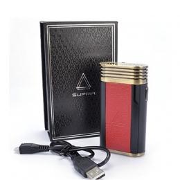Бокс мод J Well Supra box 80W Leather Black